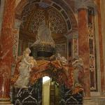 The tomb of Pope Alexander VII, by Gianlorenzo Bernini