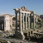 Remains of the Temple of Saturn