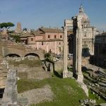 The old city of Rome (The Roman Forum)