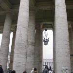 I walked through the columns...