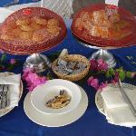 Afternoon tea at Warri Pier