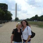 Me and Gin at the Washington Monument