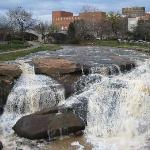 Reedy River in downtown Greenville