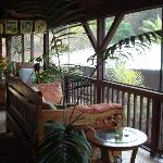 The lanai off our room