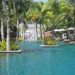 The pool villas & their pool