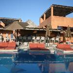 bar and pool