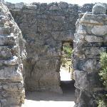 ruins- short doorframe of the mayans