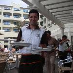 Fer (Fernando) waiter at Sunset Grill