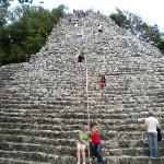 the pyramid steps