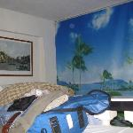 My room at the Villa Sonada