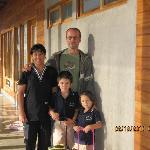 Chris & family