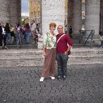 St.Peter's Square, Massimo and me