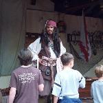 Jack Sparrow con los niños