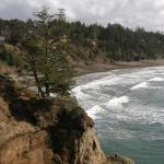 This is the Northern end of the Otter Crest/Devil's Punchbowl.  What a scene!