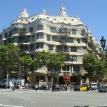 Casa Milà by Gaudí