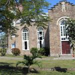 Oldest Church in Belize (200 years old)- St. John's Cathedral in Belize City, Belize