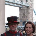 Guard at Tower of London.