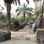 Hinunter durch den Taoro Park ging es einfacher als wieder hinauf