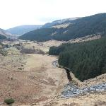 Traveling from the Wicklows to Glendalough
