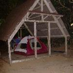 camping on nosy mangabe