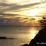 Sunrise in Shirahama
