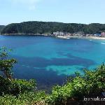 Sotoura Beach next to Shirahama in Shimoda city