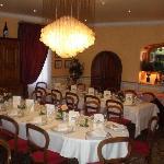 Salle indépendante pour repas de groupes