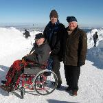 Yes - you can get a wheelchair up here!!