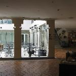 Part of the lobby
