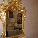 Living room in mirror