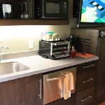 kitchenette - I think standard in every room
