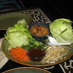 Incredibly yummy lettuce cups salad