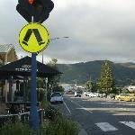 calle principal de Apollo Bay