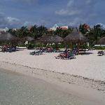 beach in front of 3-4 block