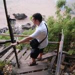 steep monkey trail!