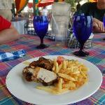 Bluefields Jerk Chicken and Fries