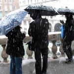 snow at Rialto