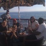 Dinner at the beach- wonderful!