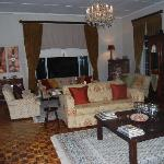 The beautiful lounge at the Manor House