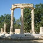 Olympic Ruins in Olympia