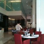 photo from inside the restaurant