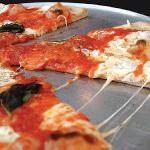 Grimaldi's Neapolitan style pizza