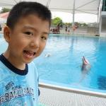 Here's Singapore Dolphin's Lagoon.