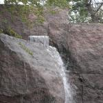 waterfall at the FDR memorial