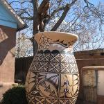 Largest clay pot in North American located in Old Town Albuquerque. It's not the largest ball of