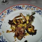 dinner at the Mediteranean
