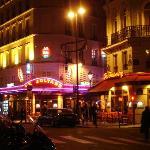 Corner of rue Cadet -- hotel just down street