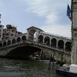 ヴァポレットから見たリアルト橋