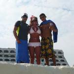 Kat, Carlos, and Angel.