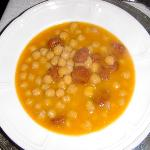 Chorizo and garbanzo beans